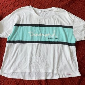 Diamond supply co. zumiez crop top
